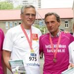 20140427 60 minister presdient Kris Peeters en minister Hilde Crevits Het Geheim van Hardlopen 10 Miles Antwerpen
