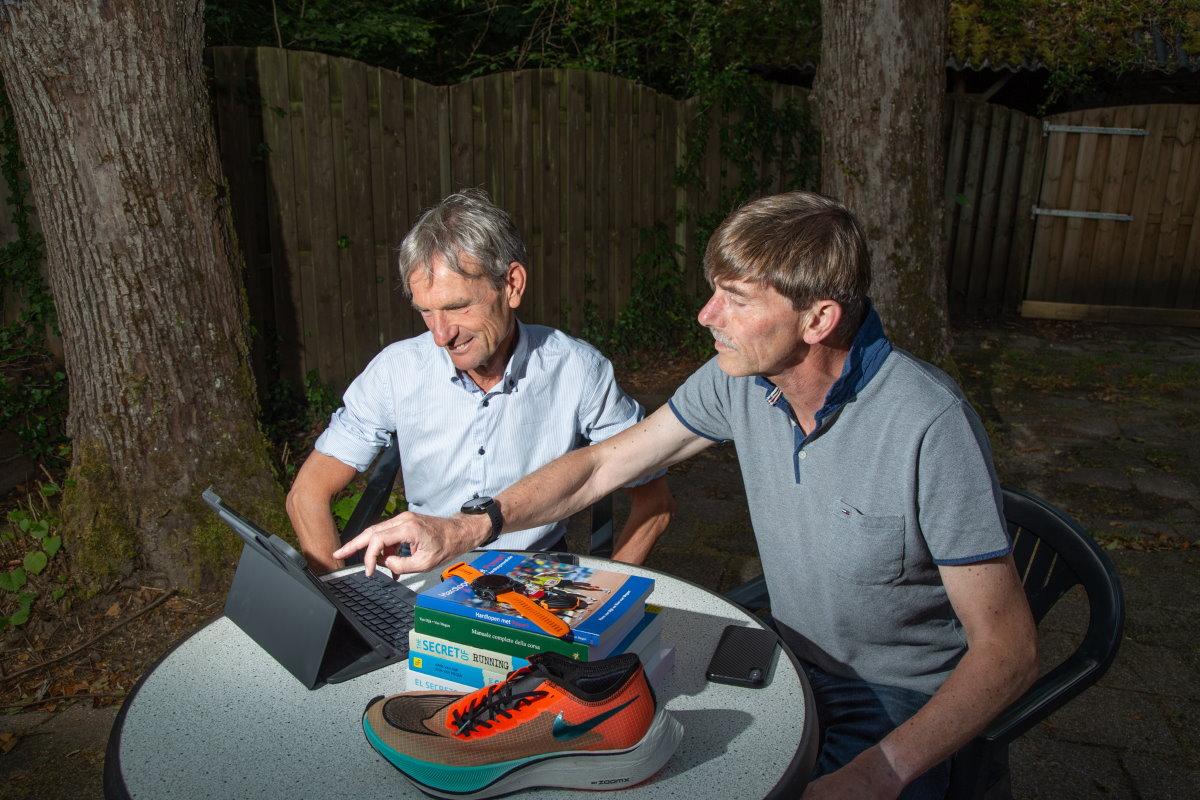 Hans van Dijk en Ron van Megen