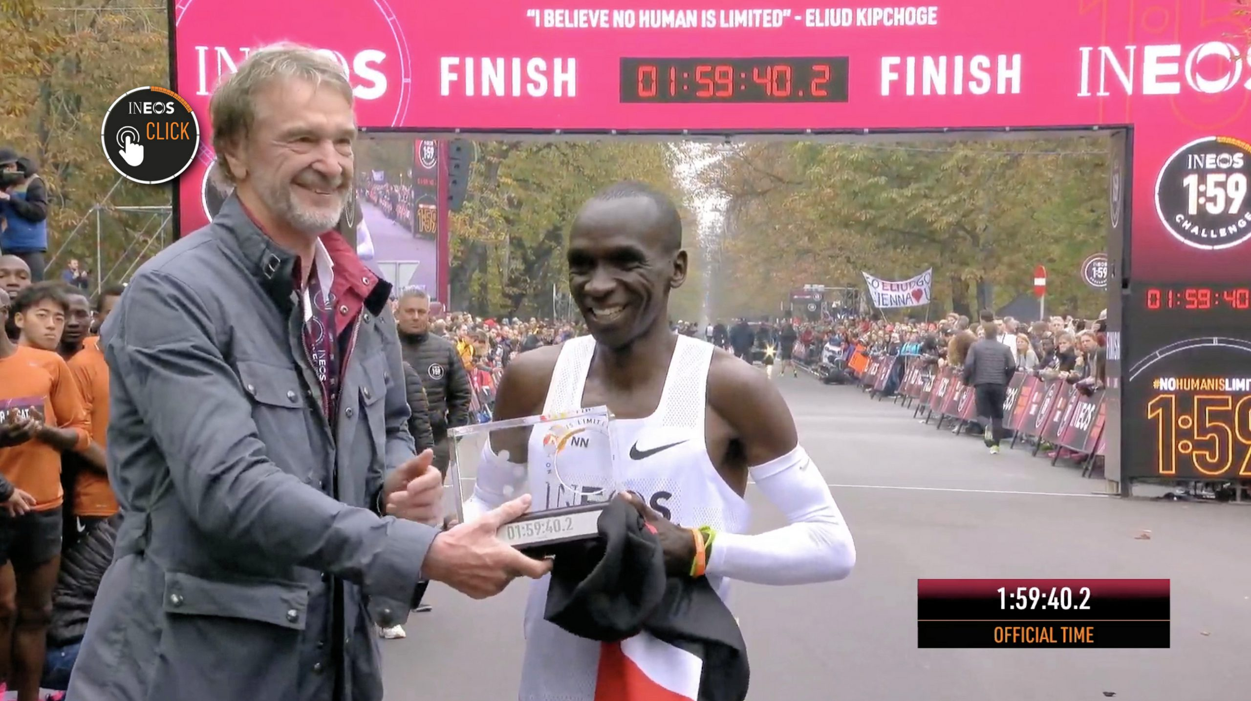 The physiology of Eliud Kipchoge and his 'Breaking2' pacers